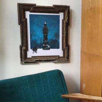 Weyerbuschturm framed